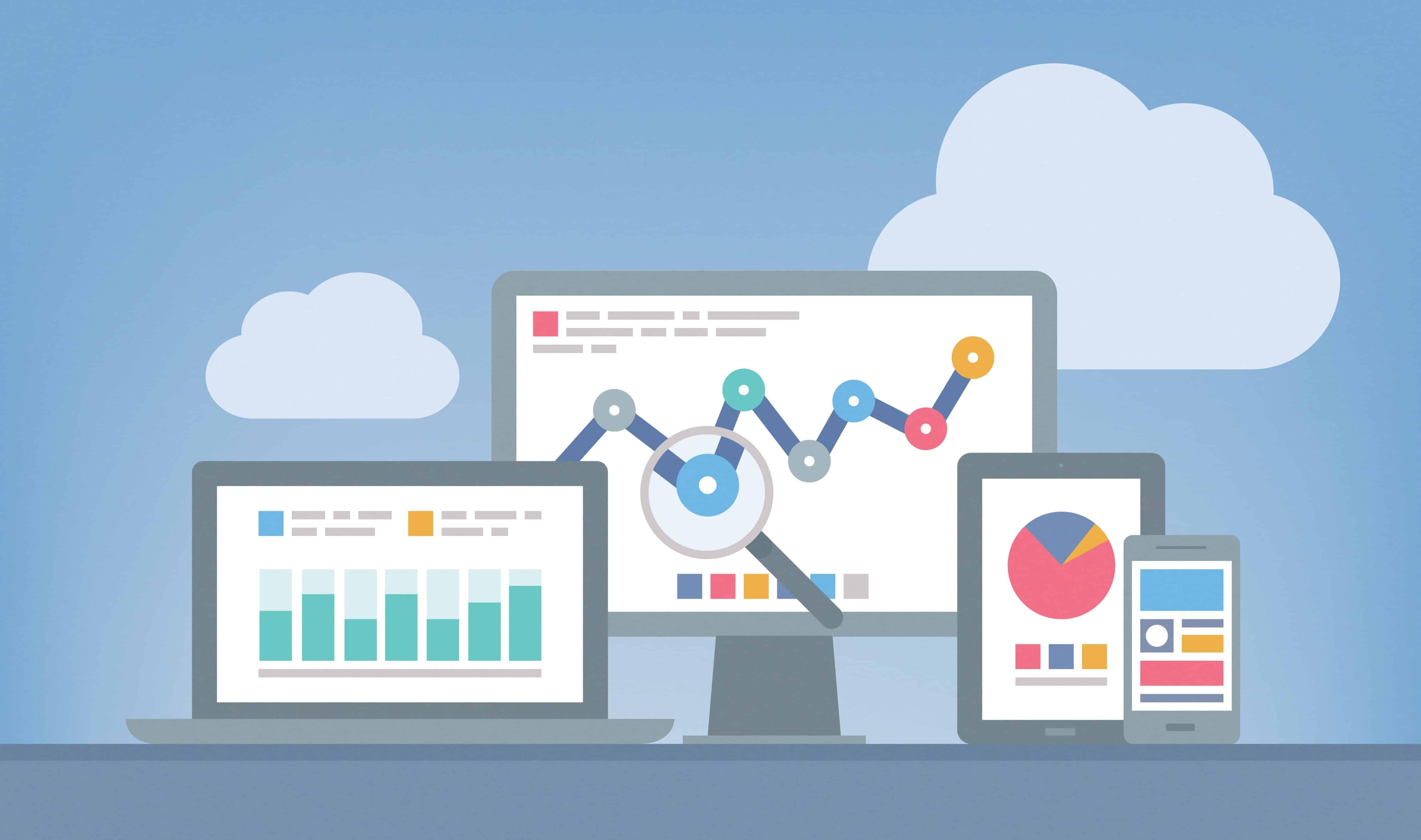 self-service reporting data visualisation