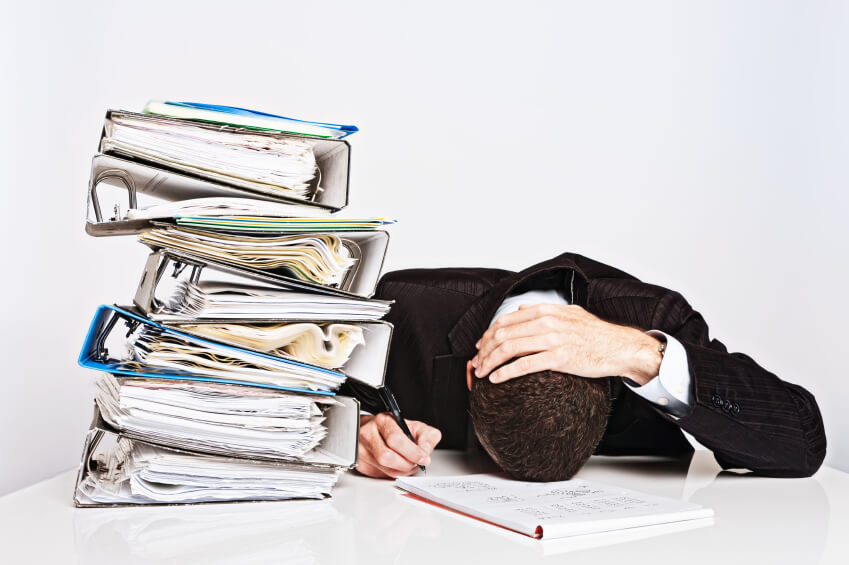 CFO information overload data