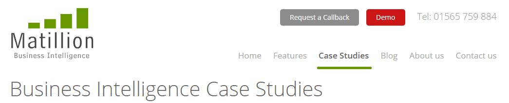 cloud analytics business intelligence case studies