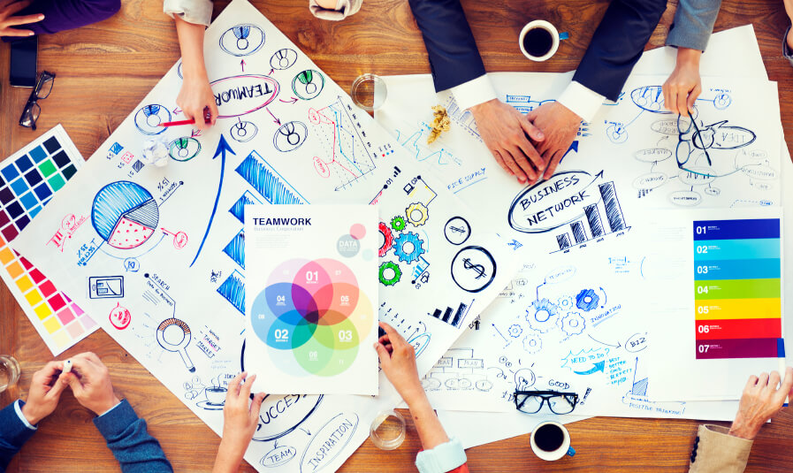 business dashboard design users