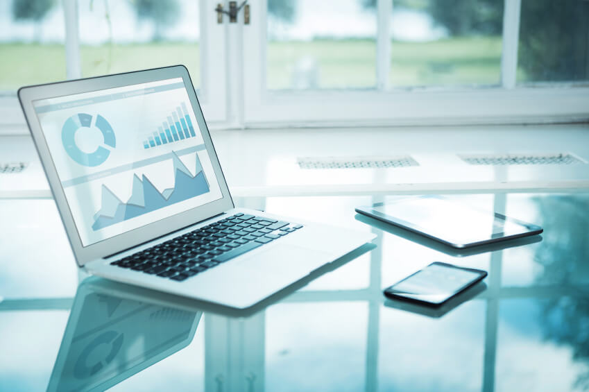 business dashboard technology devices
