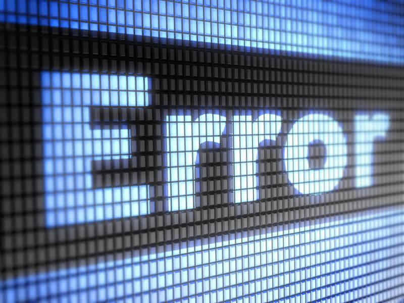 spreadsheet error cloud reporting software