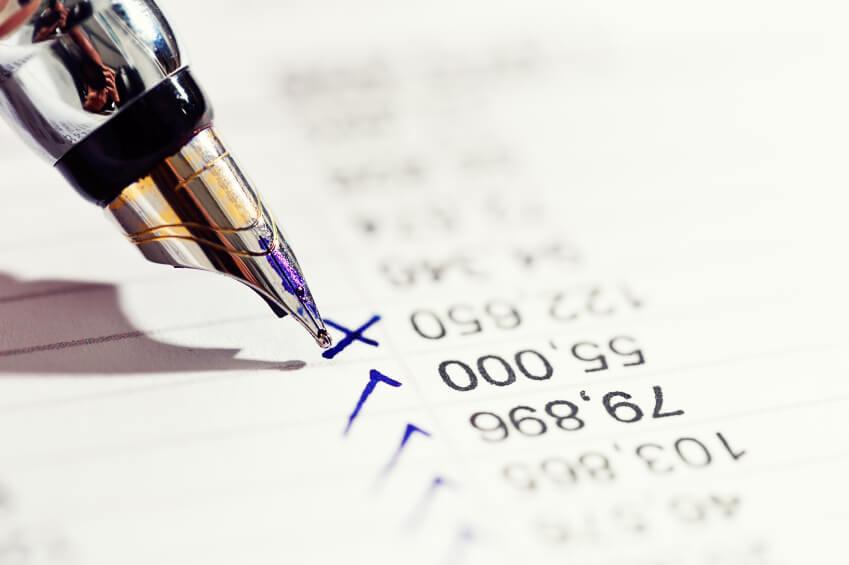 spreadsheet reporting errors
