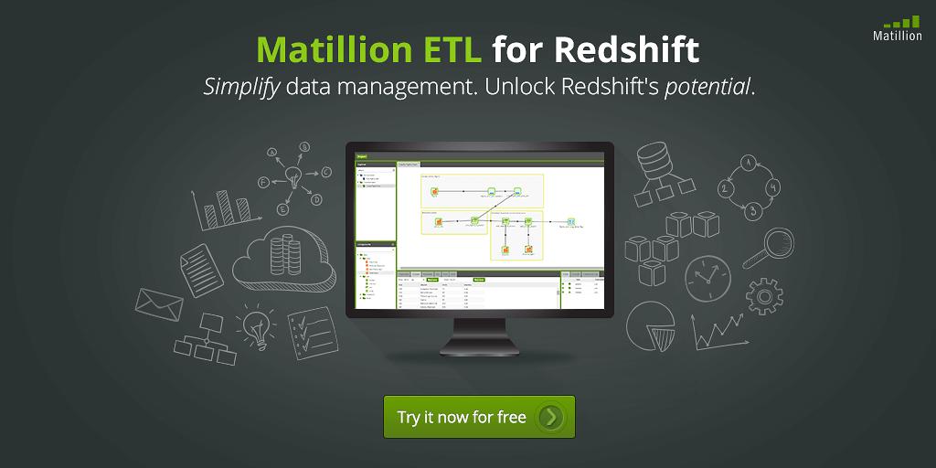 matillion etl for redshift