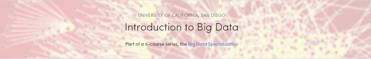 big data courses coursera
