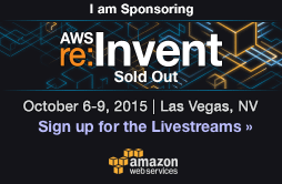 aws re:invent sponsor