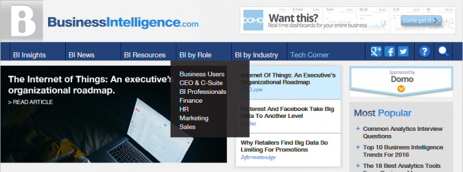 business intelligence news business intelligence