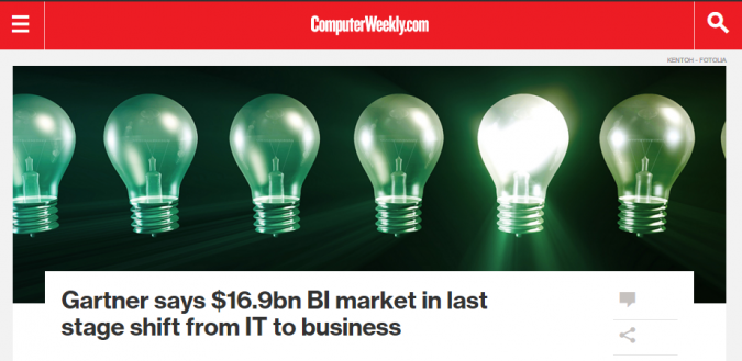 business intelligence news computer weekly
