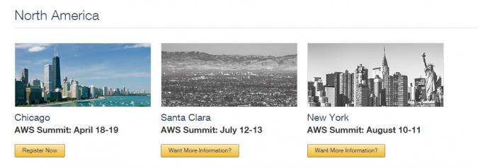 aws-summit-locations