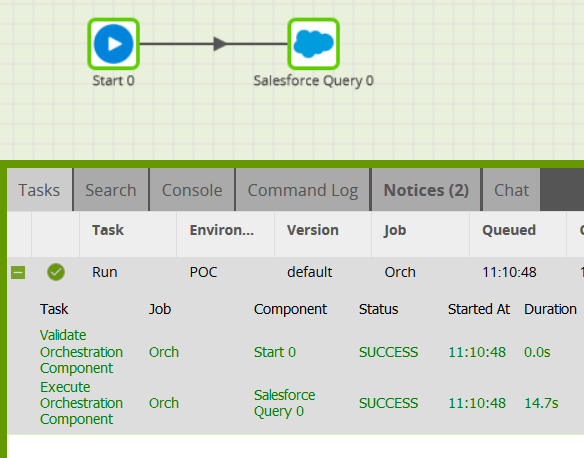 Using the Matillion Salesforce connector for Snowflake