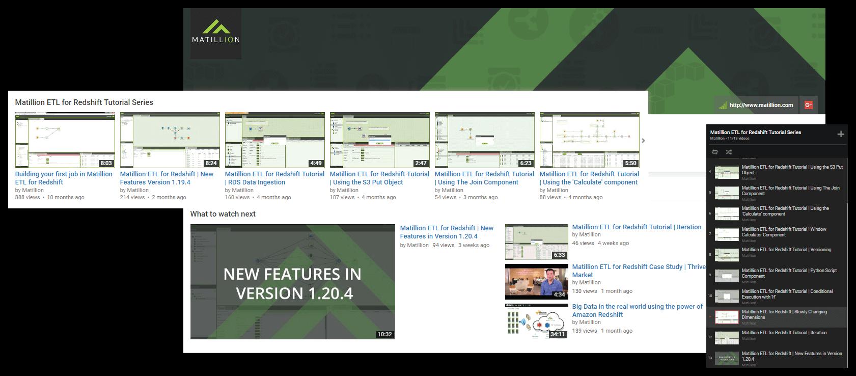 matillion video suite youtube