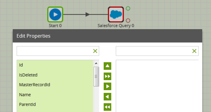 salesforce-query-component-matillion-etl-amazon-redshift-edit-properties