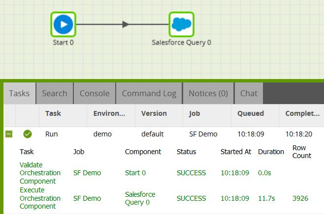 salesforce-query-component-matillion-etl-amazon-redshift-api