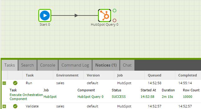 Matillion-ETL-Hubspot-RunQuery-RedShift