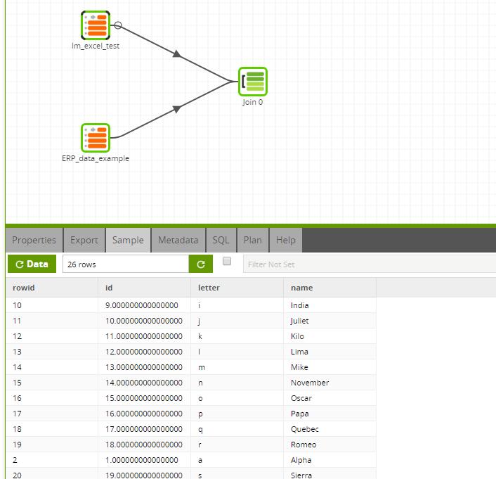Matillion-ETL-Snowflake-ExcelQueryComponent-Transformation