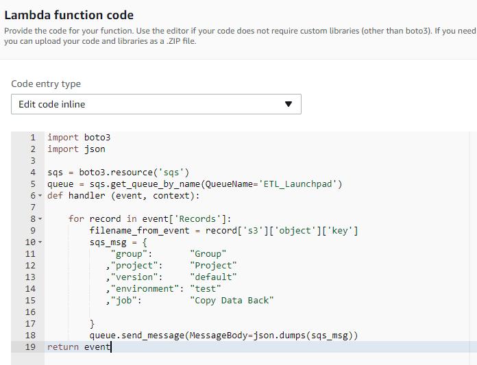 Matillion-ETL-Rogue-Schedule-Lambda-function-code