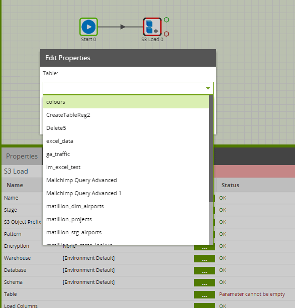Matillion-ETL-Snowflake-JSON-S3Load-TargetTable