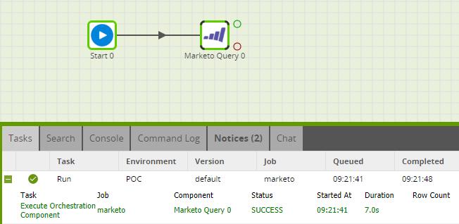 Matillion-ETL-MarketoQueryComponent-Run-BigQuery