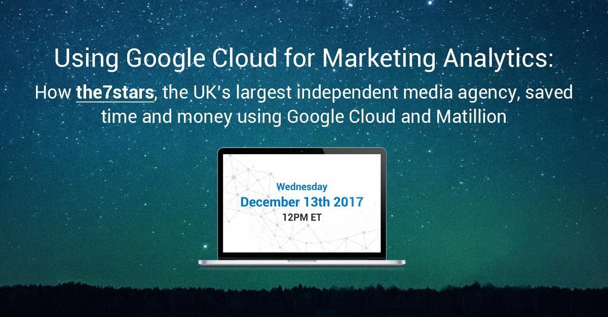 Marketing Analytics with Google BigQuery and Matillion ETL