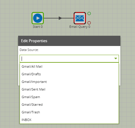 Using the Email Query component in Matillion ETL for Snowflake - Data Source