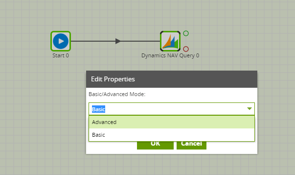 Dynamics NAV Query Component in Matillion ETL - Advanced mode