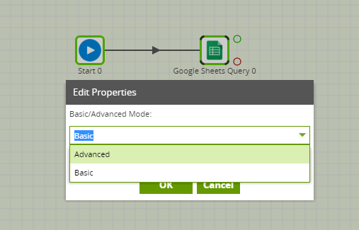 Google Sheets Query Component in Matillion ETL - advanced mode