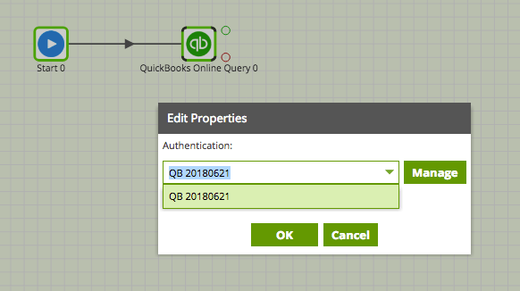 QuickBooks Query in Matillion ETL for Amazon Redshift - authentication
