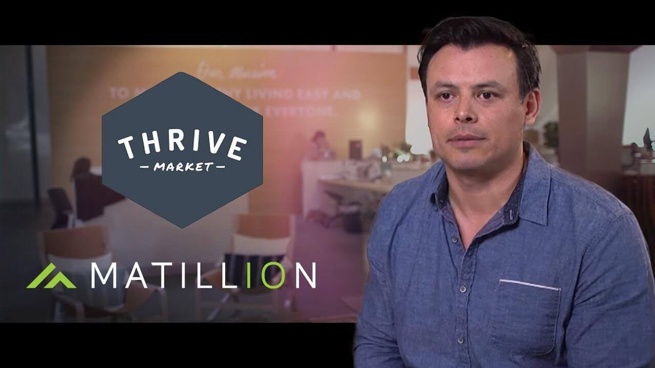 Case Study | Thrive Market | Matillion ETL for Amazon Redshift