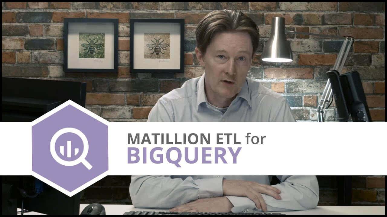 Tutorial | API Query Component | Matillion ETL for BigQuery
