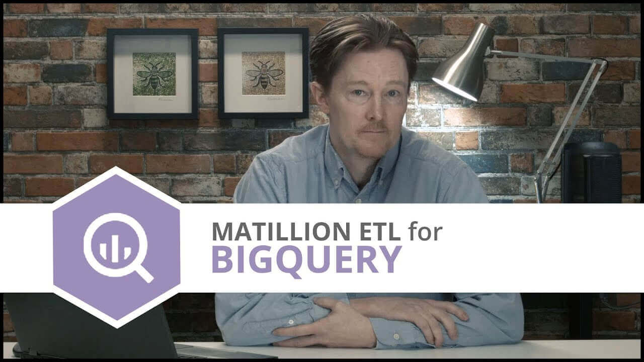 Tutorial | Building Your First Job | Matillion ETL for BigQuery