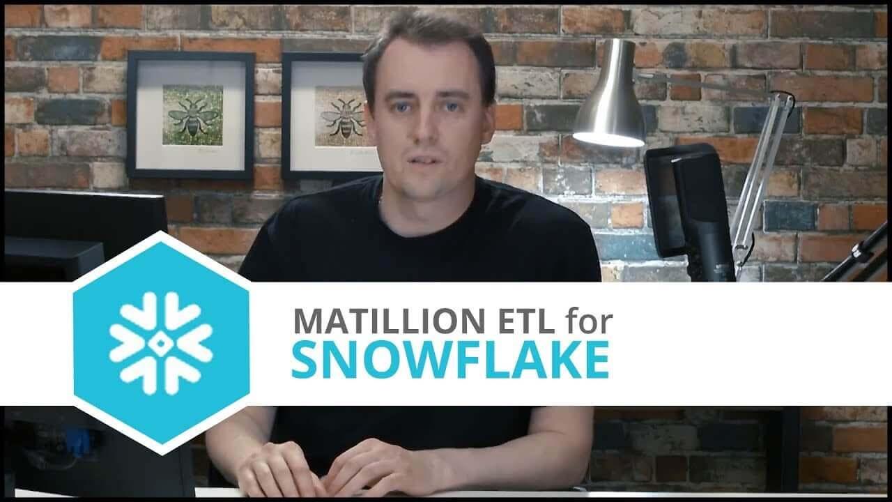 Tutorial | Building Your First Job | Matillion ETL for Snowflake