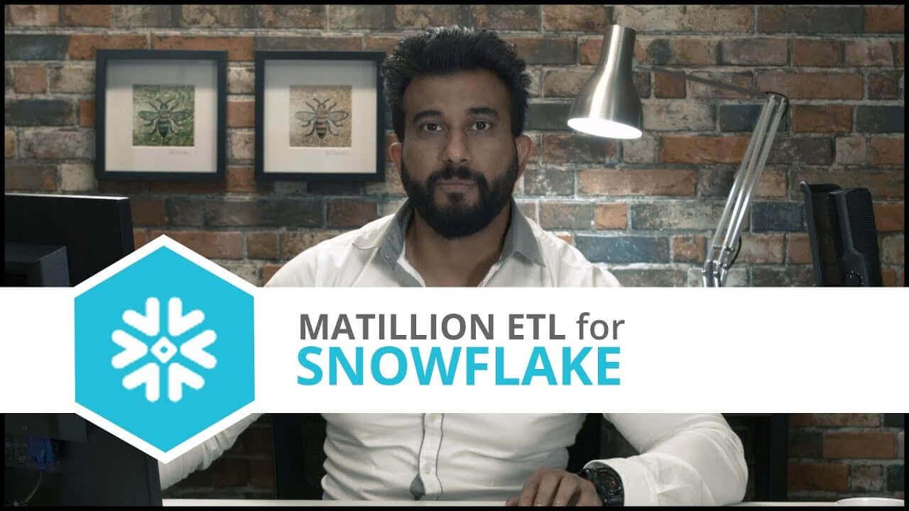 Tutorial | CSV Load | Matillion ETL for Snowflake