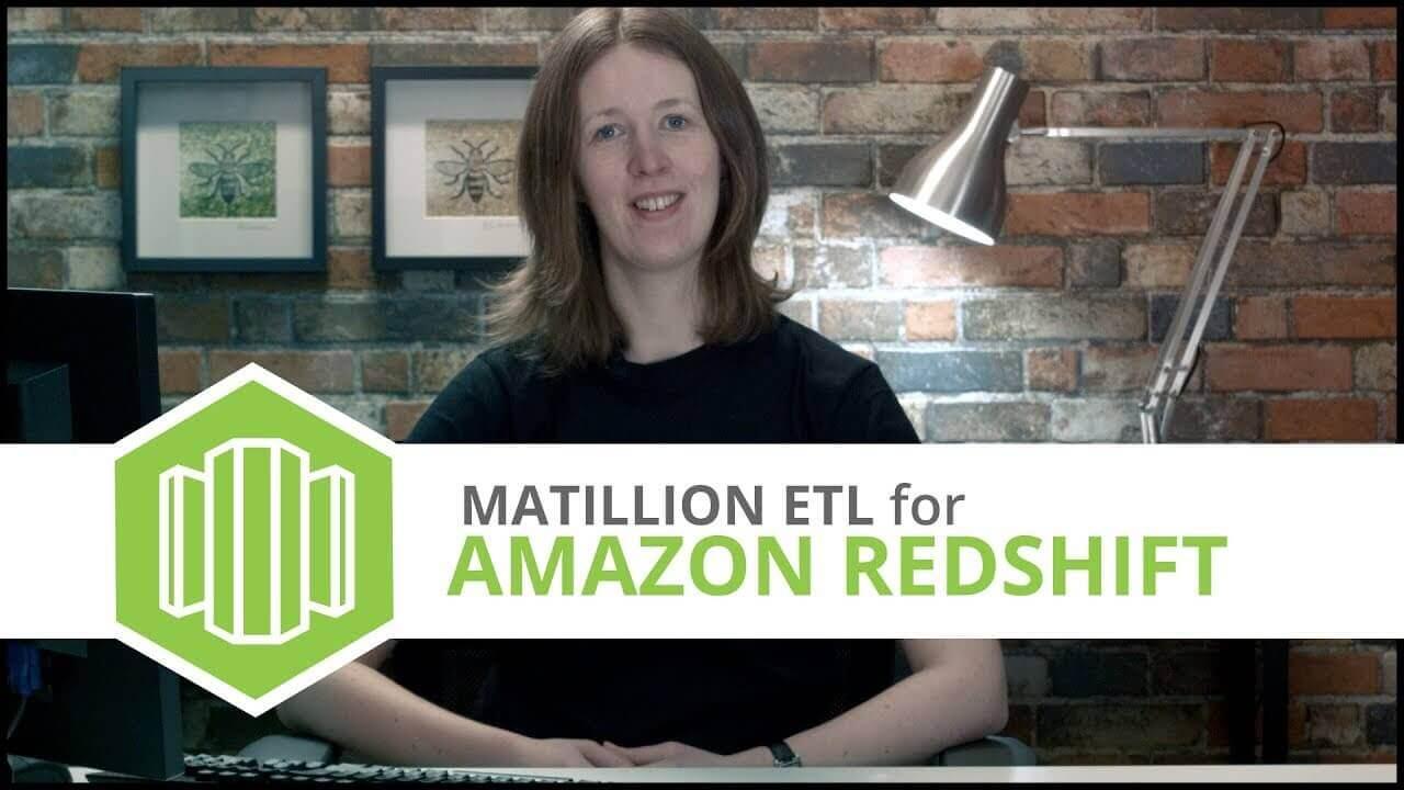 Tutorial | Dynamics NAV Query Component | Matillion ETL for Amazon Redshift