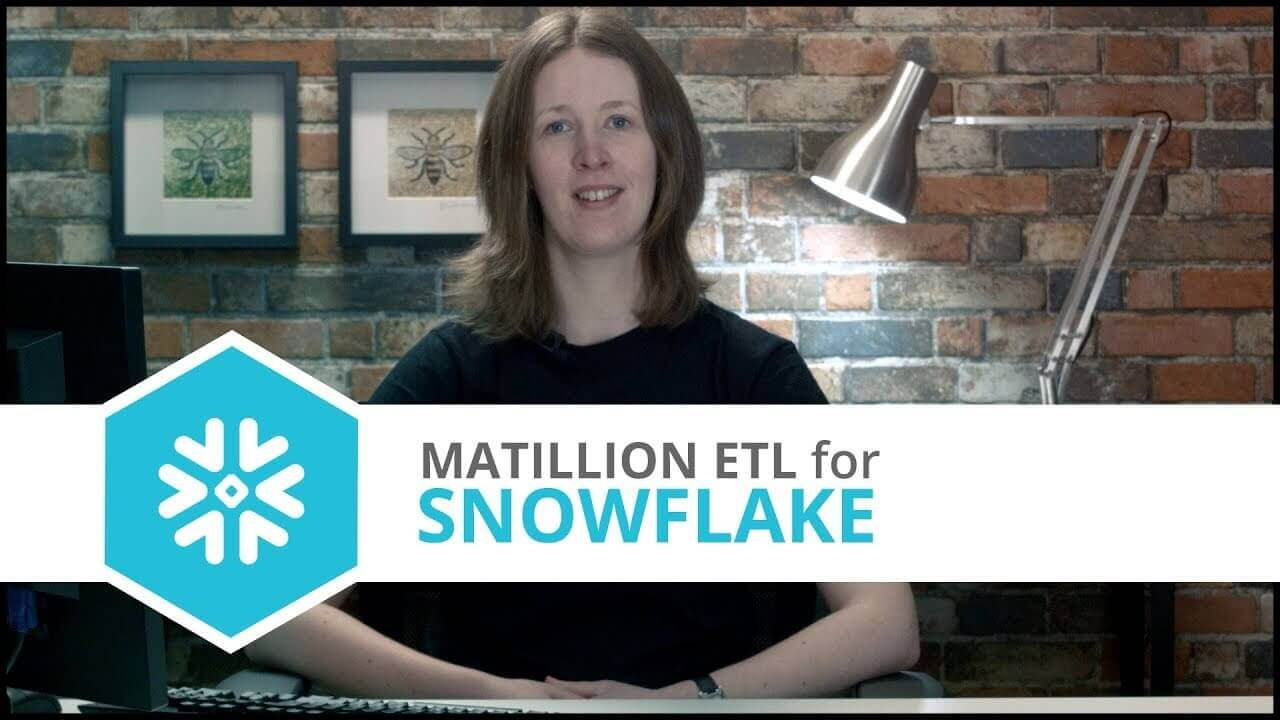 Tutorial | Dynamics NAV Query Component | Matillion ETL for Snowflake