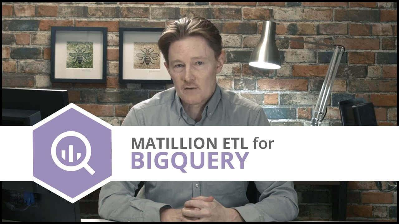Tutorial | GitHub | Matillion ETL for BigQuery