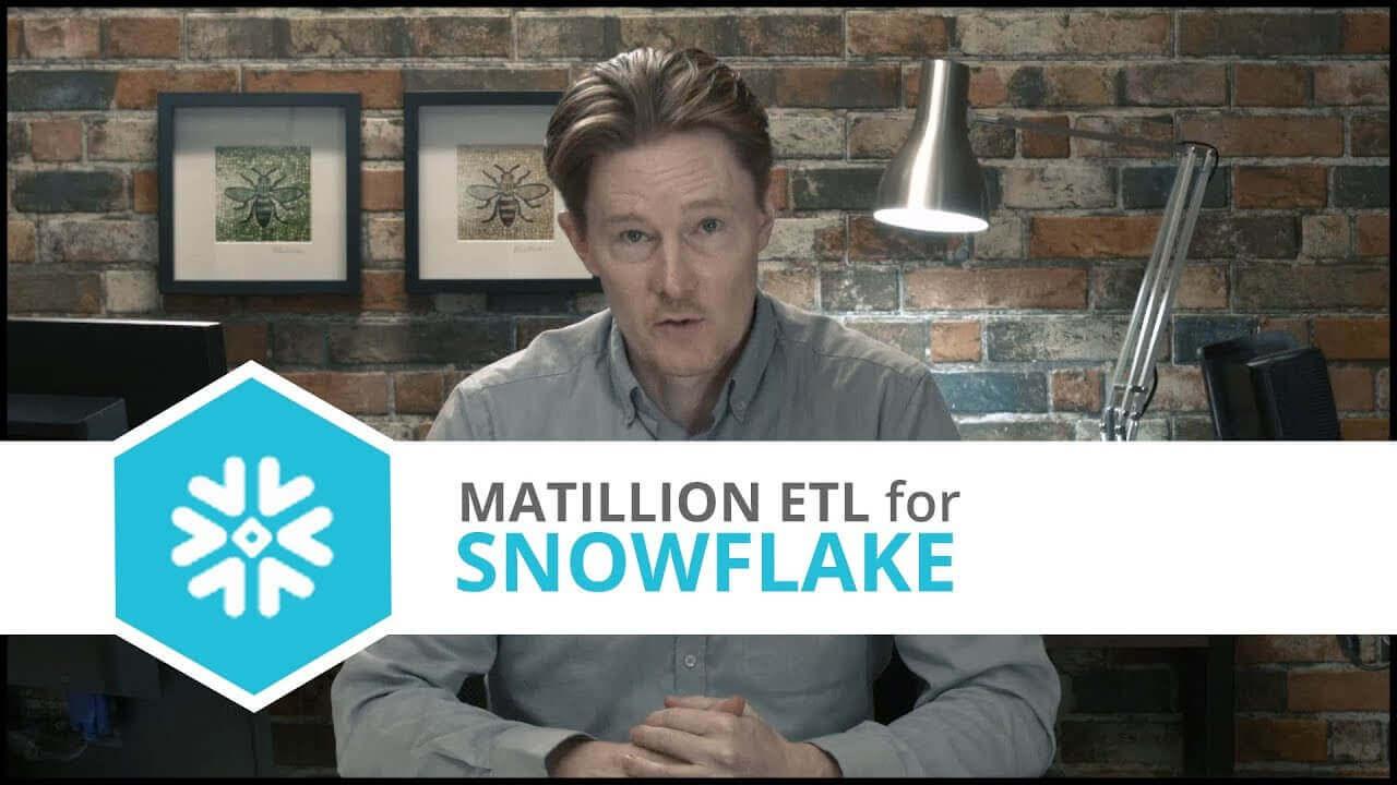 Tutorial | Github | Matillion ETL for Snowflake