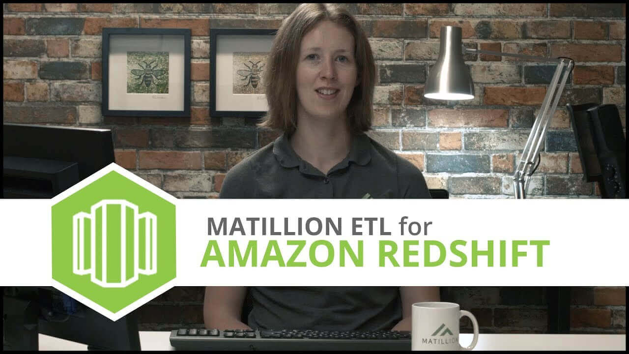 Tutorial | Google Analytics Query Component | Matillion ETL for Amazon Redshift