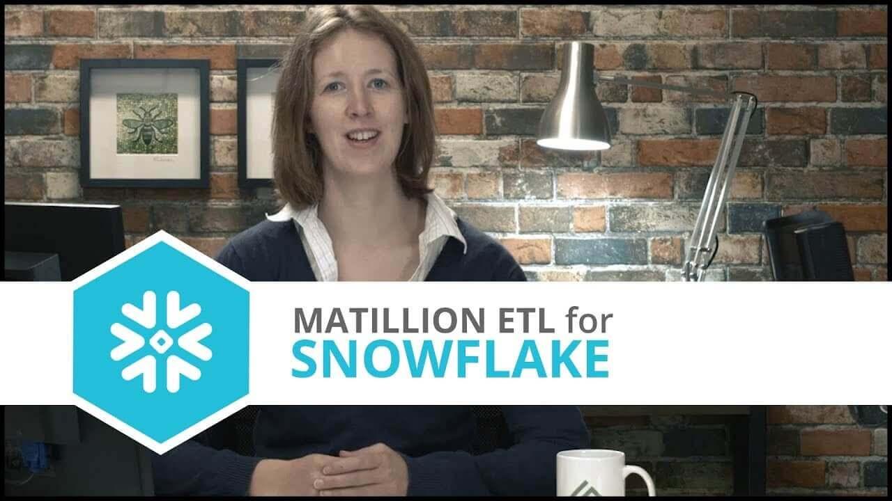 Tutorial | Google Analytics Query Component | Matillion ETL for Snowflake