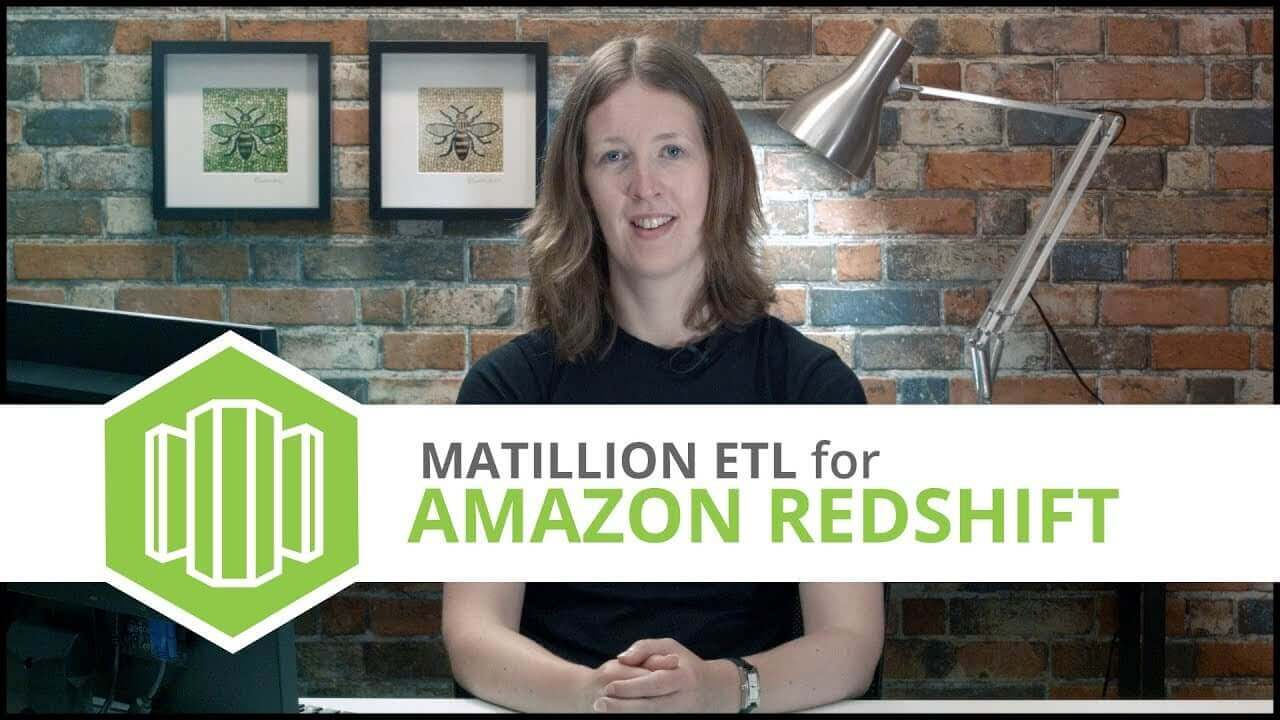 Tutorial | Google BigQuery Component | Matillion ETL for Amazon Redshift