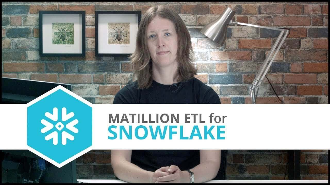 Tutorial | Google BigQuery Component | Matillion ETL for Snowflake