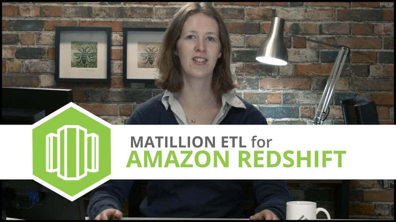 Tutorial   Loading JSON Files   Matillion ETL for Amazon Redshift