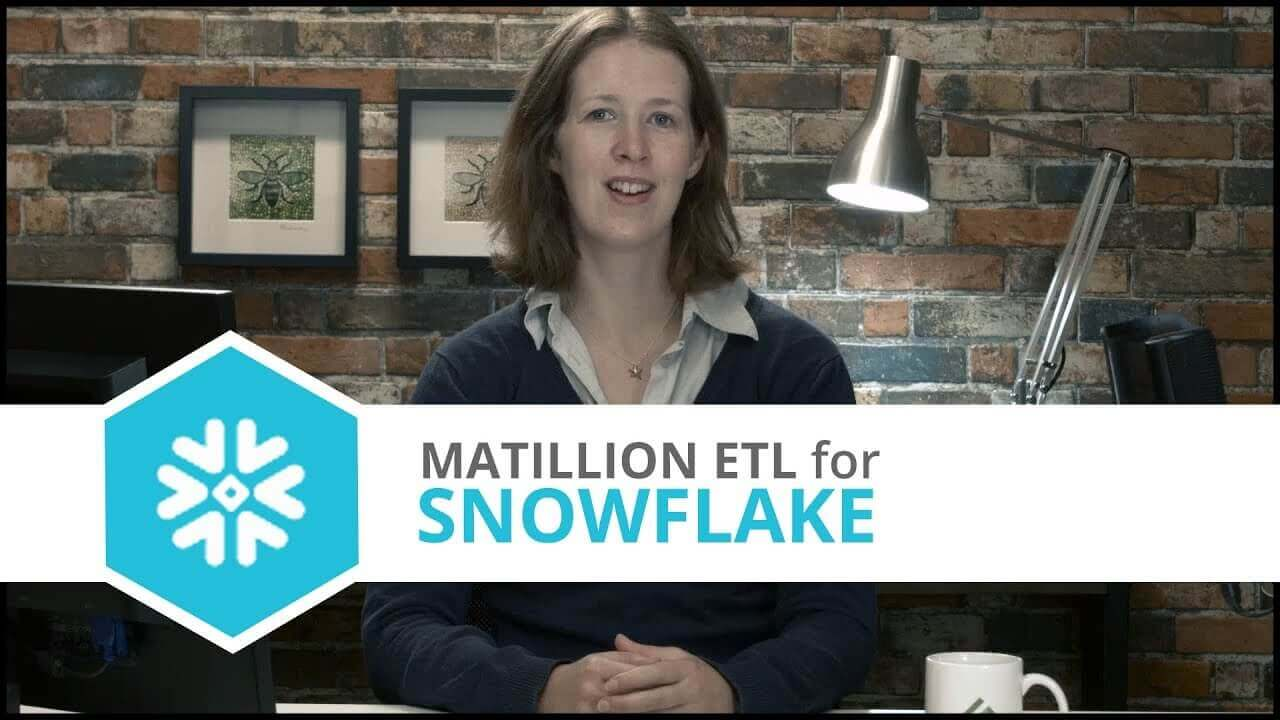 Tutorial | Loading JSON Files | Matillion ETL for Snowflake