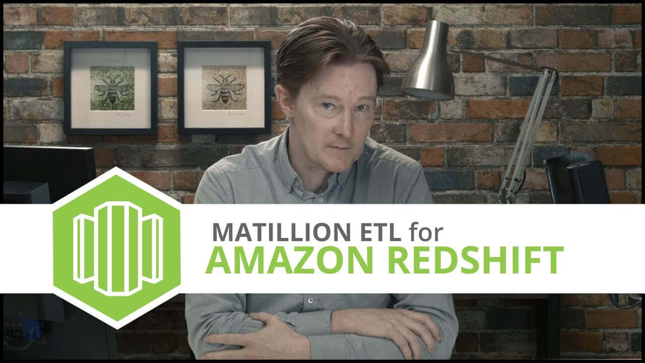 Tutorial | Loading Parquet Data with Spectrum | Matillion ETL for Amazon Redshift
