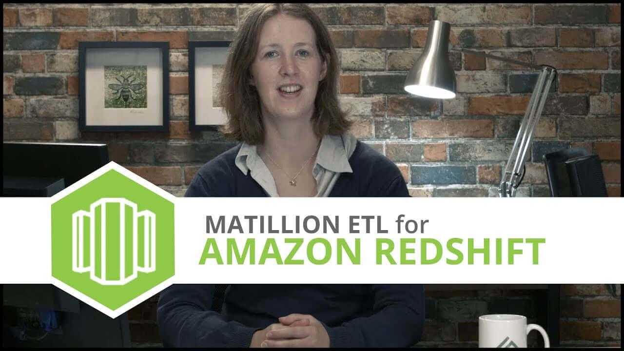 Tutorial   MongoDB Component   Matillion ETL for Amazon Redshift