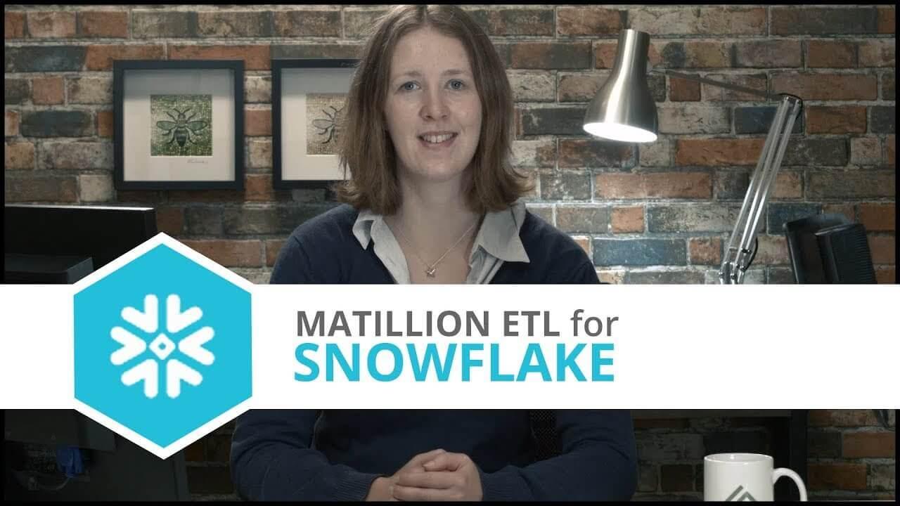 Tutorial | MongoDB Component | Matillion ETL for Snowflake