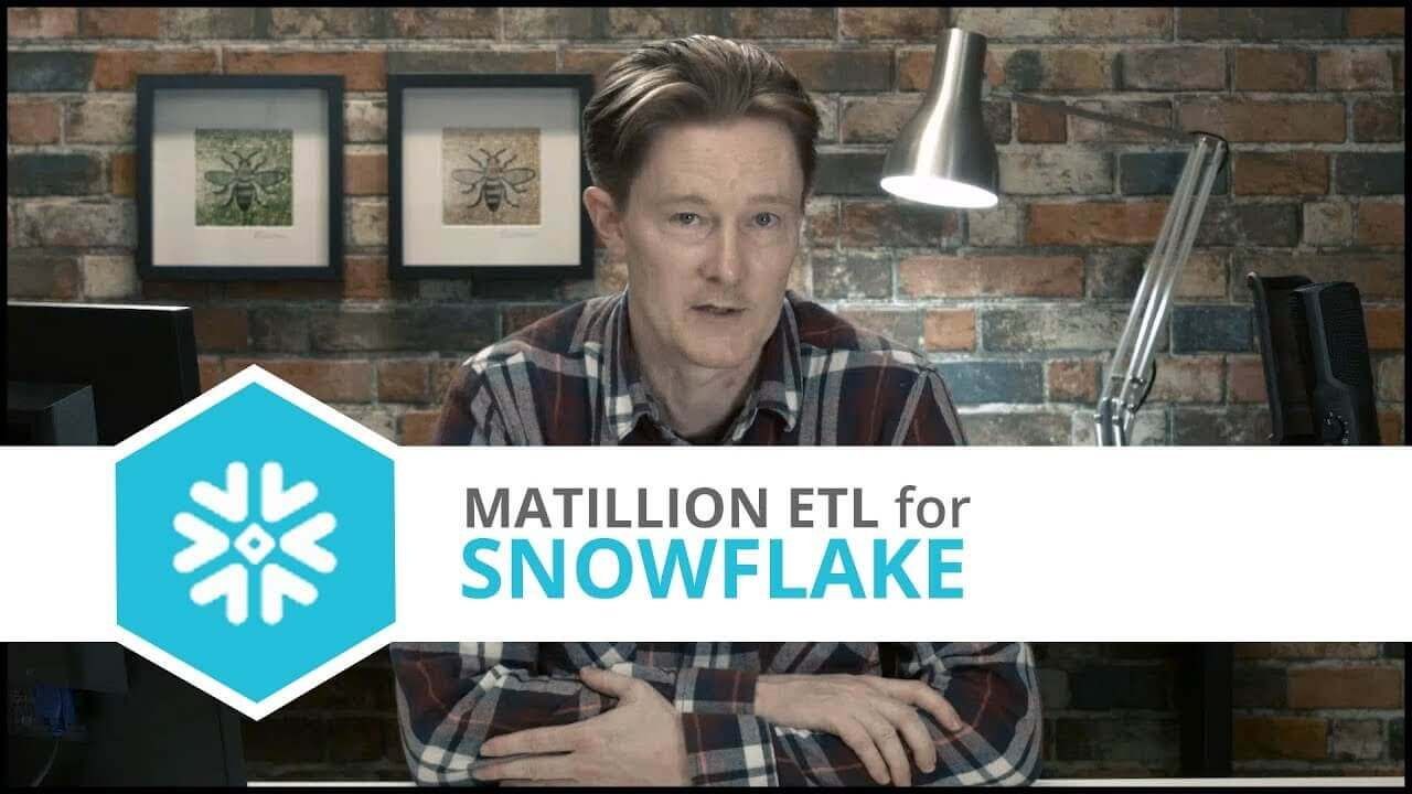 Tutorial | Twitter Query Component | Matillion ETL for Snowflake