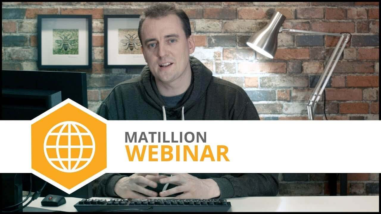 Webinar | Introducing Matillion ETL Version 1.31 + Q&A