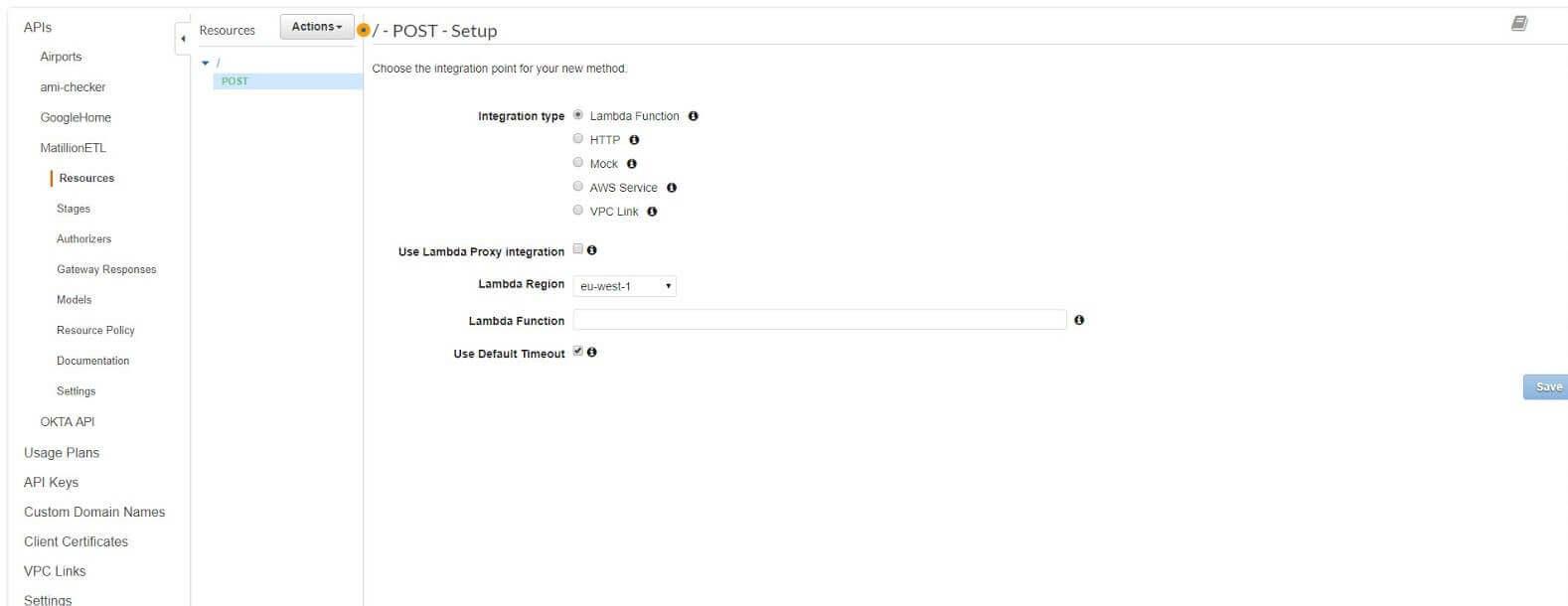 Matillion ETL Job from your Google Home device - API