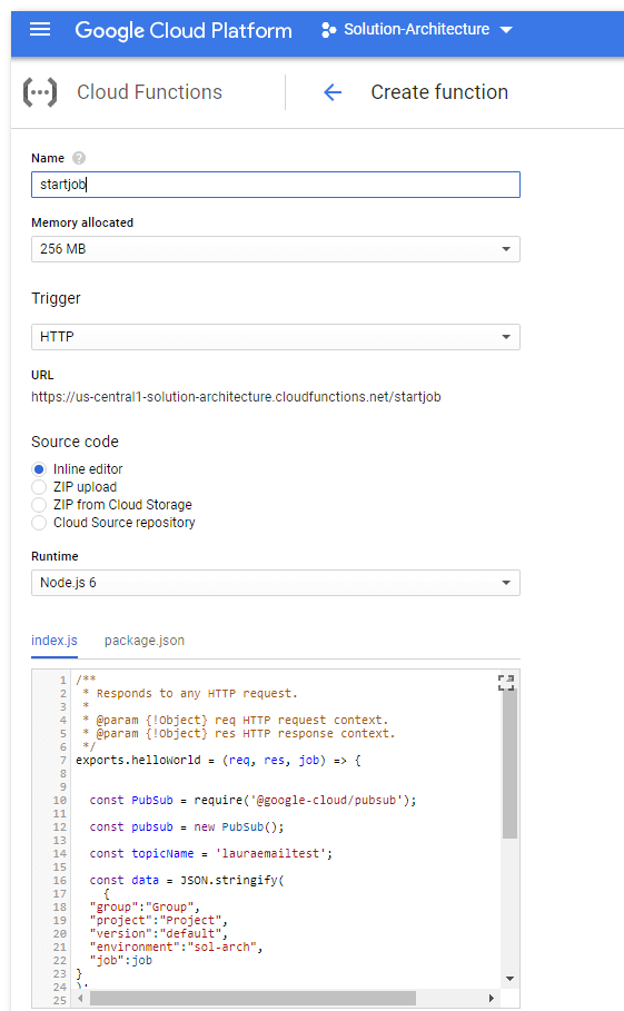 Matillion ETL for BigQuery Job from your Google Home device - Cloud function