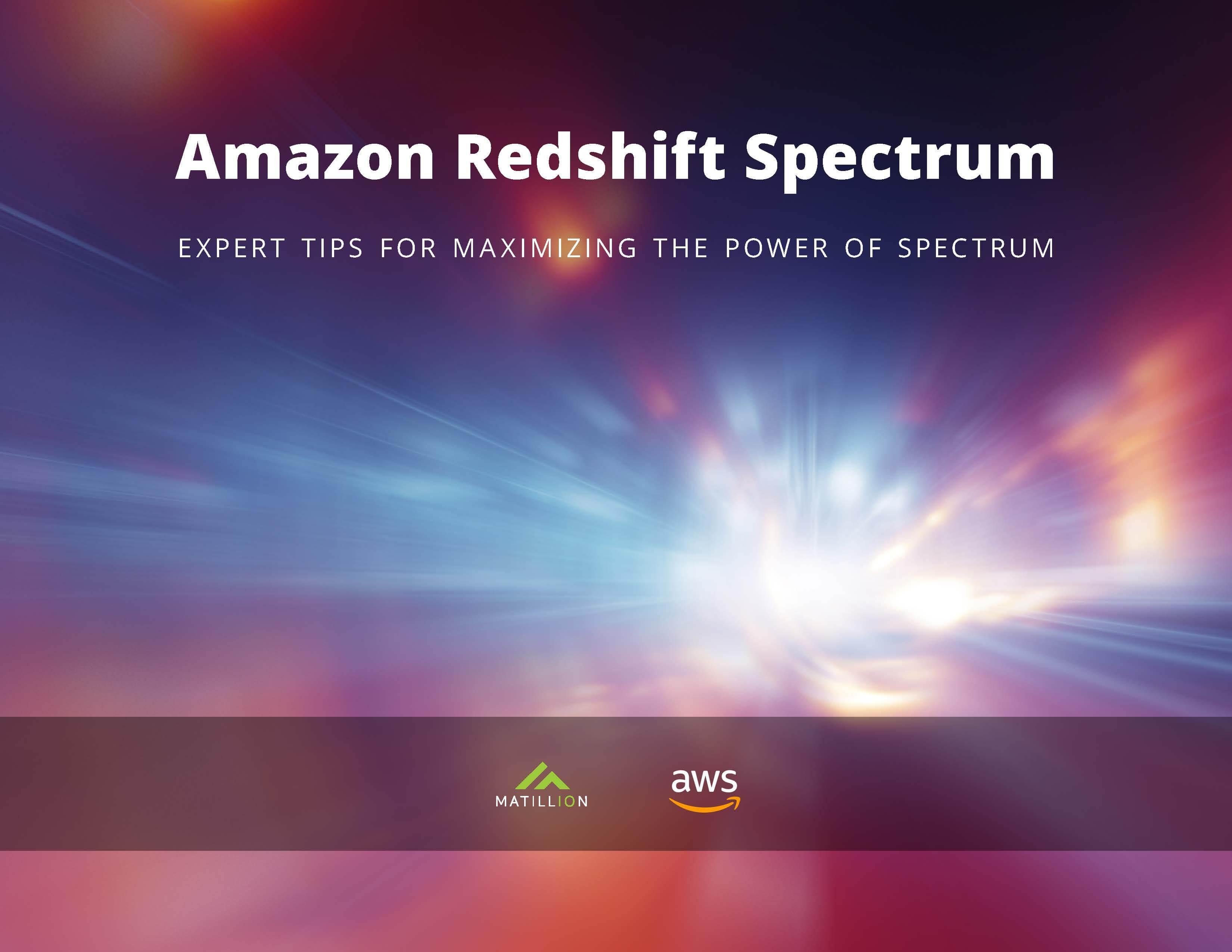 Matillion_eBook3_RedshiftSpectrumFINAL
